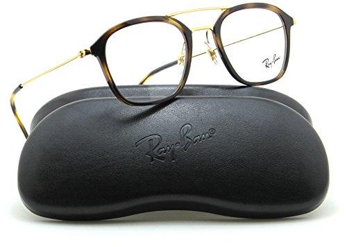 Ray-Ban RX7098 Square Unisex Prescription Eyeglasses 2012 - - Case Ban Ray Eyeglasses