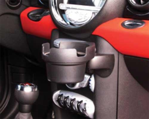 Mini Cooper Cup Holder Post Mount Gen2 R55 R56 R57 R58 R59 (Mini Cooper Cup Holder)