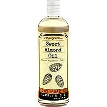 Piping Rock Sweet Almond Oil 16 fl oz (473 mL) Bottle Organic Cold Pressed Frunus Amygdalus Dulcis