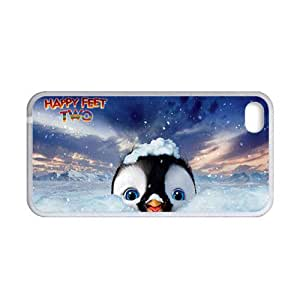 Print With Happy Feet Two For Apple Iphone 4S 4 Th Love Phone Case For Kid Choose Design 2