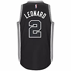 Adidas Nba Kawhi Leonard San Antonio Spurs Black Swingman Jersey (3xl)