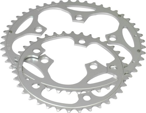 Stronglight 5-Arm 110mm Chainring. Dural Alloy, 9/10 Speed Shimano/SRAM Compatible, 48T