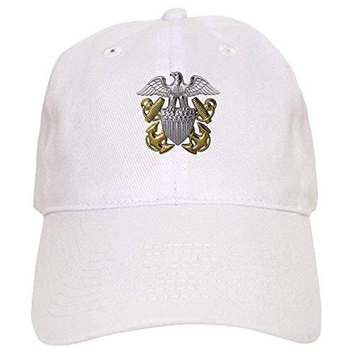 LUDEM Naval Officer Crest - Baseball Cap Adjustable Closure, Unique Printed Baseball Hat