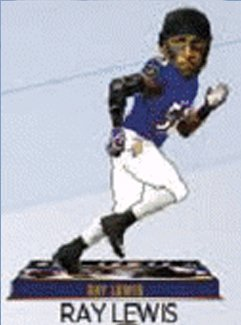 Forever Collectibles Baltimore Ravens Bobblehead