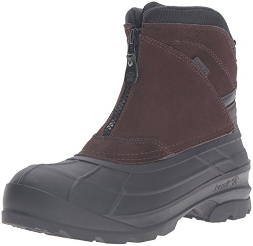 Kamik Men's Champlain2 Snow Boot, Dark Brown, 11 M US