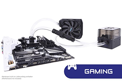 Alphacool 11482 Eissturm Gaming Copper 30 1x120mm - Complete kit Water Cooling Kits, Systems and AIOs