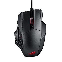 ASUS ROG Spatha RGB Wireless/Wired Laser Gaming Mouse -֠Best MMO