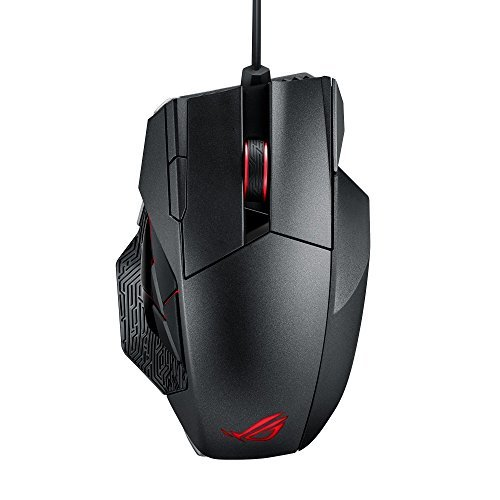 - ASUS ROG Spatha Gaming Mouse RGB Wireless/Wired Laser Gaming Mouse