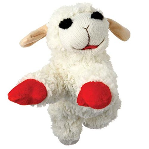 Lamb Chop Classic Plush Toy (4 Sizes) (GIANT- 24'' for Large Dogs) by Multipet