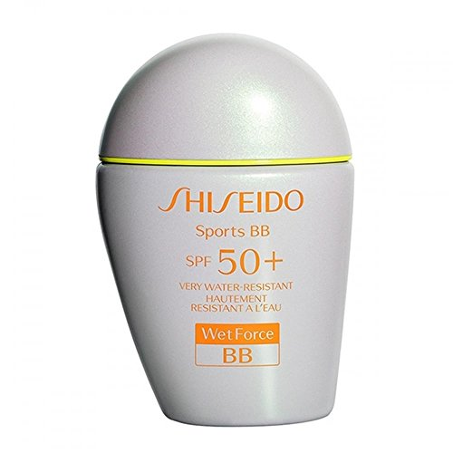 Shiseido Sports BB SPF 50+ Very Water-Resistant, No. Dark, 1 Ounce (Waterproof Sun Cream Protection)