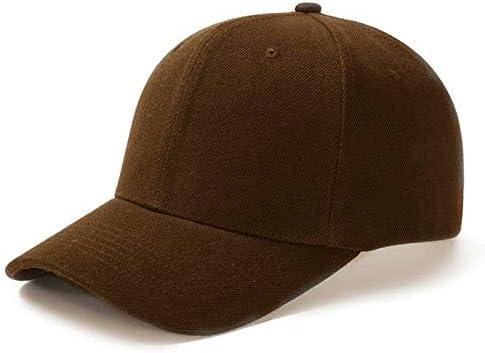 WAZHX Gorra Unisex Gorra De Béisbol De Malla Lisa Informal Sombreros Ajustables Snapback para Mujeres Hombres Gorra De Camionero Hip Hop Streetwear Sombrero De Papá