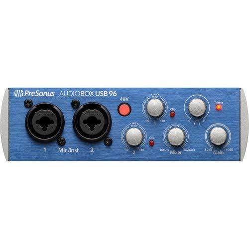 (PreSonus AudioBox USB 96 2x2 USB Audio Interface)