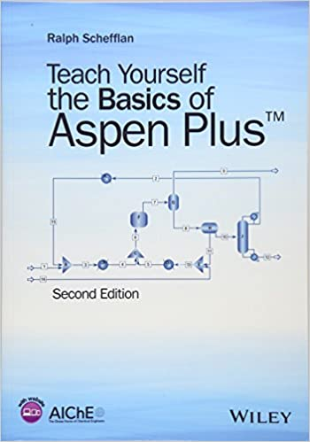 Teach Yourself the Basics of Aspen Plus: Ralph Schefflan