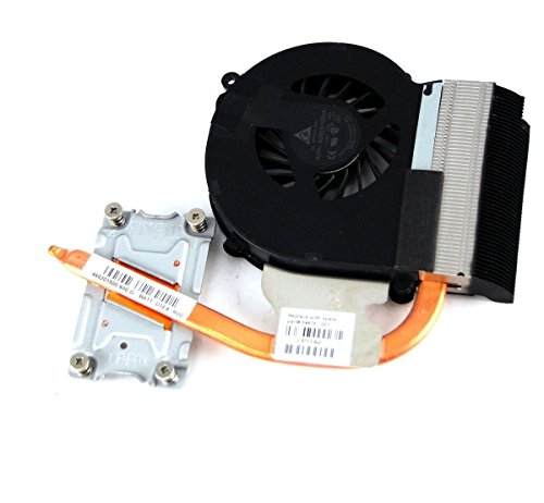 HK-part Replacement Fan for HP 2000 430 630 Compaq Presario CQ43 CQ57 Series Intel Cpu Cooling Fan With Heatsink 646183-001 646181-001 3-Pin 3-Wire DC5V