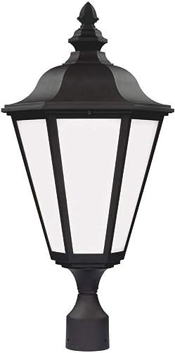 Sea Gull Lighting 1892197 89025-12 Brentwood Outdoor Post, Black
