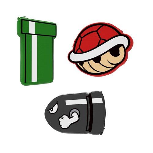 Price comparison product image New 3DS XL Super Mario Warp Pipe Neoprene Icon Case Pouch