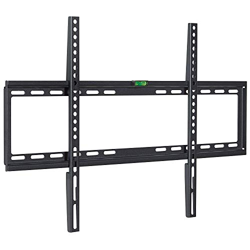 1byhome TV Wall Mount Bracket for Most 32-70 Inch LED/LCD/OLED and Plasma Flat Screen TV, Low Profile TV Bracket Wall Mount up to VESA 600x400mm and 110lbs