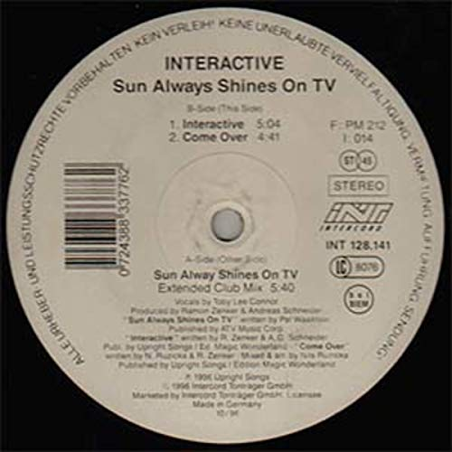 Sun always shines on tv (Ext. Club, 1996) / Vinyl Maxi Single [Vinyl 12''] ()