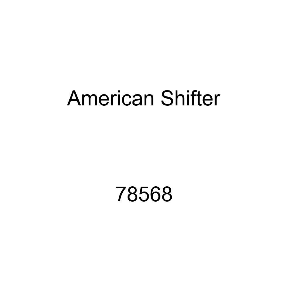 American Shifter 148609 Black Retro Shift Knob with M16 x 1.5 Insert White Shift Pattern 7n