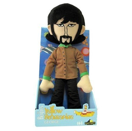 Yellow Submarine Band Member Shakems - Deluxe Premium Motion Statue (Swapable Head) George ()