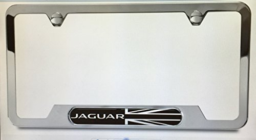 Superb Jaguar License Plate Frame Blackjack By Jaguar
