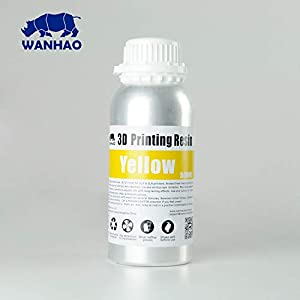 Wanhao 3D-Printer UV Resin - 500 ml - Orange by Wanhao