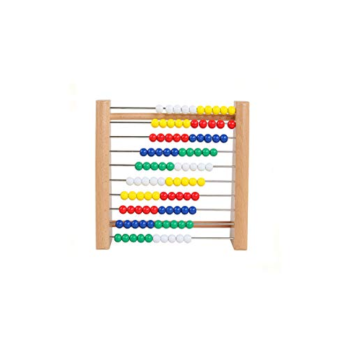 - GEMEM Abacus Classic Wooden Toy 123 Learning Math Manipulatives Counting Beads Educational Montessori Counters Toys for Preschool Girls Boys 2 Years and Up