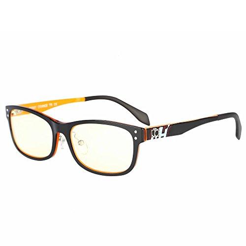 1d4d1135405a Jimmy Orange Anti Blue Light Reading Glasses Anti Glare Readers Computer  Eyewear JO8812 Orange+0.25