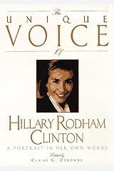 Unique Voice Hillary Cli Paperback