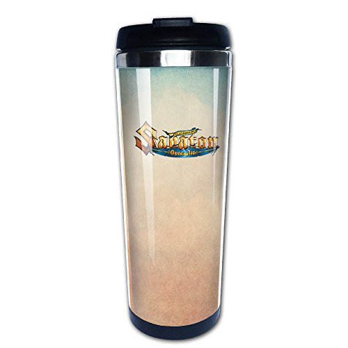 Boomy Cool SABATON Open Air Stainless Steel Coffee Mug For Indoor & Outdoor Office School Gym Use