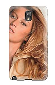 New Shockproof Protection Case Cover For Galaxy Note 3/ Gisele Bundchen Beige Top Case Cover