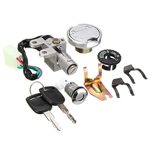 Unverisal Motorcycle Ignition Lock Switch Fuel Tank
