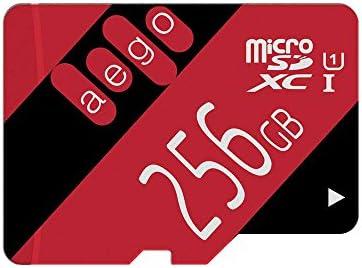 AEGO 256GB Tarjeta Micro SD U1 Clase 10 TF Tarjeta para Dash CAM ...