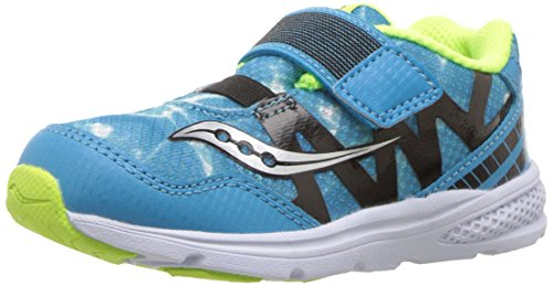 Saucony Kids' Baby Ride Pro Running-Shoes,Ocean Wave Blue,9.5 Extra Wide US Toddler
