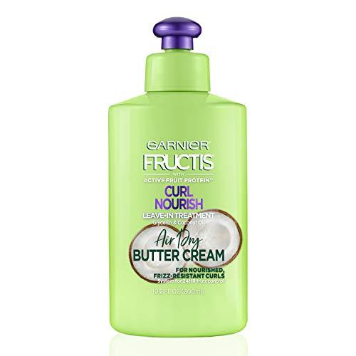 Garnier Hair Care Fructis Triple Nutrition Curl Moisture Leave-in Conditioner, 10.2 Fluid Ounce (Best Curly Girl Leave In Conditioner)