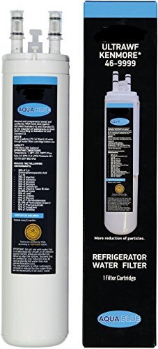 Aqua Blue ULTRAWF Water Filter Compatible For Frigidaire Refrigerator NSF Certified by AQUA BLUE