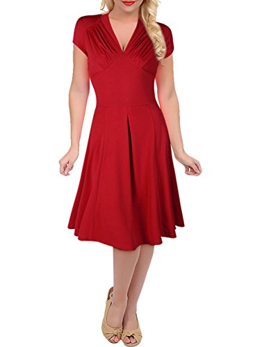 Red Para Suxcge Vestido 3188 Mujer qt0Paw5