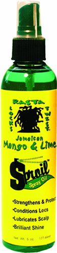 Jamaican Mango & Lime Sproil Stimlatingsspray Oil, 6 Ounce (Best Natural Products For Dreadlocks)