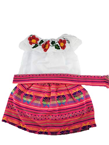 Mexican Infant Dress Size 1 Dress Set 3 PC Day of The Dead Coco Theme Party Halloween -