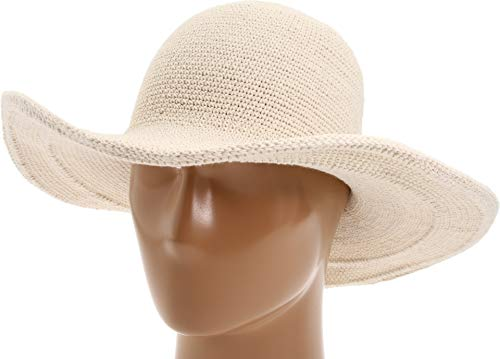 San Diego Hat Company Women's Crochet Hat O/S Natural ()
