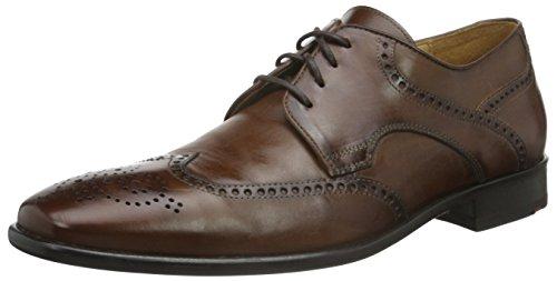 Lloyd Forster, Zapatos de Cordones Derby para Hombre Marrón - Braun (KENIA 4)