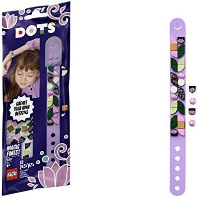 TJ Lego DOTS Magic Forest Bracelet DIY Craft Bracelet Kit for Kids 41917