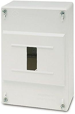 Famatel 3411 - Caja icp superficie 1-4 elementos: Amazon.es ...