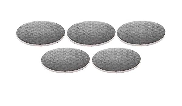 W PACKAGING WPDRM14S 1//2 Thick Round Cake Drum 14 Covers Top and Sides Silver Pack of 12 Corrugated with Coated Embossed Foil