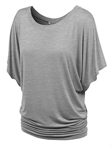 Assorted Womens Short Sleeve Shirts - WT742 Womens Boat Neck Short