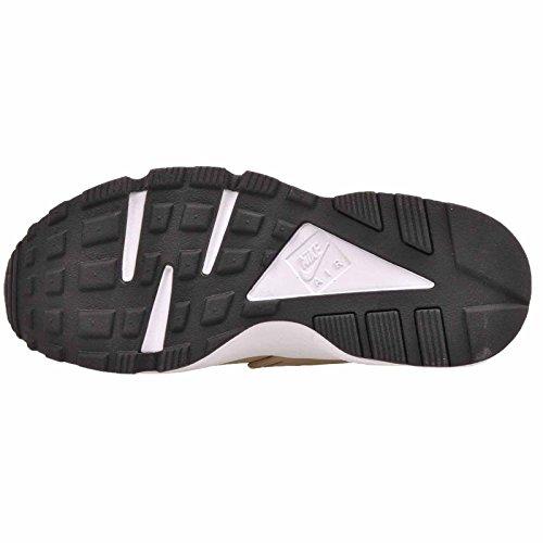Aire Run Mujer Negro de Zapatillas Huarache Caqui Nike Estampado blanco dpOREqd
