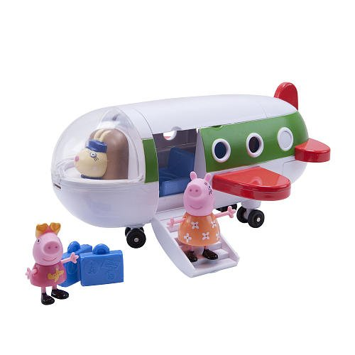Peppa Pig Holiday Plane Vehicle with Figures Holiday Figure Set