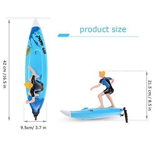 Goolsky GRANDES JUGUETES DE LA PARED 2310 2.4G teledirigido de la tabla de surf Electric RC Barco Juquetes: Amazon.es: Juguetes y juegos