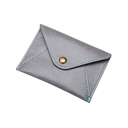 Little rock Ultra-Thin Faux Leather Envelope Card Bag Unisex Mini Coin (Ultra Thin Envelope)