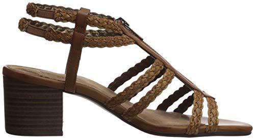 A2 Women Combo Sandal by Range Brown Mid Dress Aerosoles 67ORwqxvd6